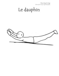 Physio Ergo St-Onge_activité à imprimer_motricité globale_dauphin